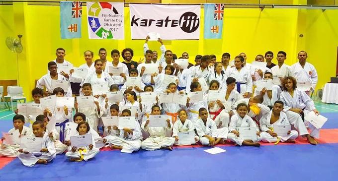 Karate Fiji Continues To Grow