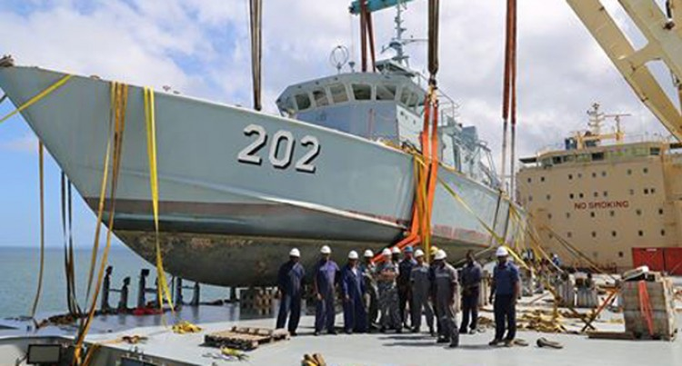 RFNS Kikau In Australia  For Repairs And Upgrade