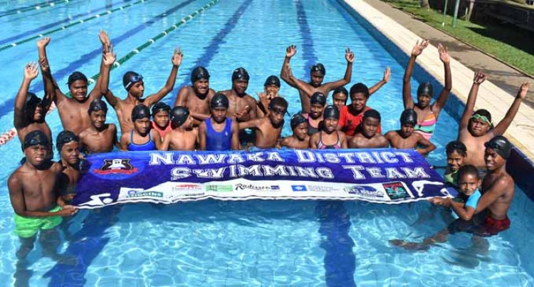Nawaka Swimmers Debut