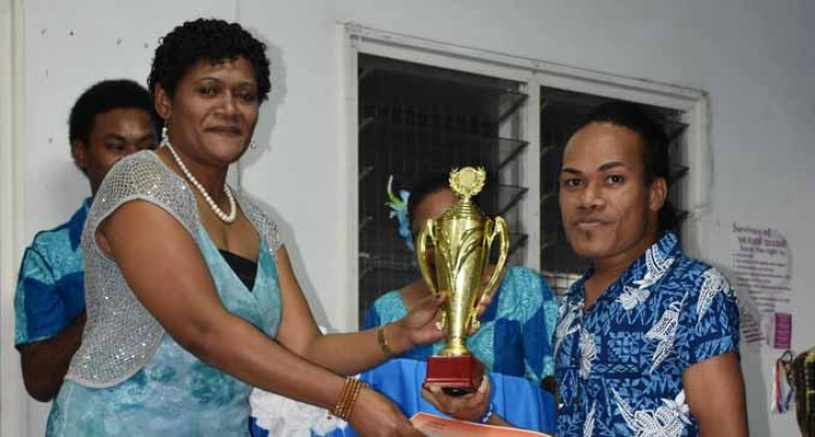 Nasilasila Wins Top Male Volunteer Award