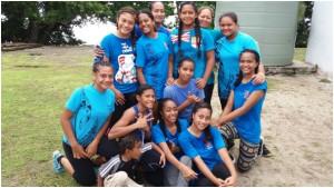 service netball team