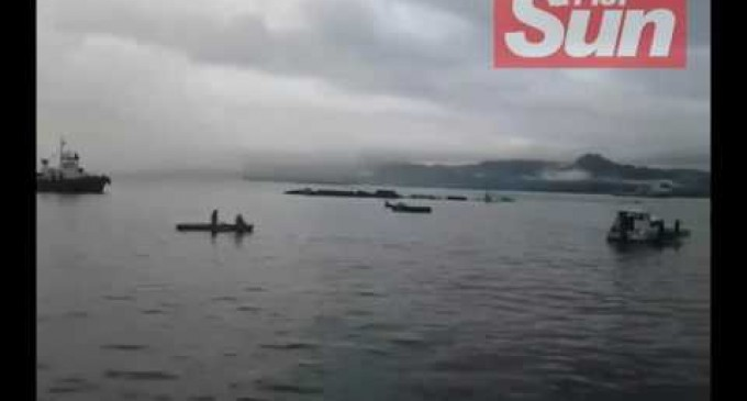 Southern Phoenix Spotted Sinking At The Suva Harbour