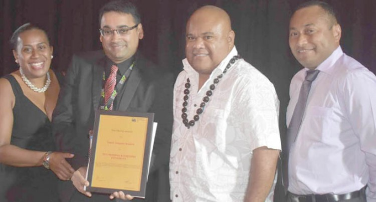 Fiji Revenue And Customs  Authority Scoops Team Award