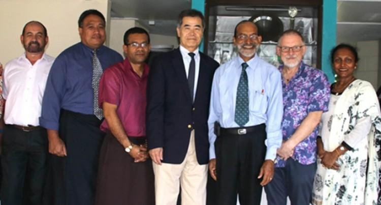 Uni Farewells Outgoing Japanese Ambassador