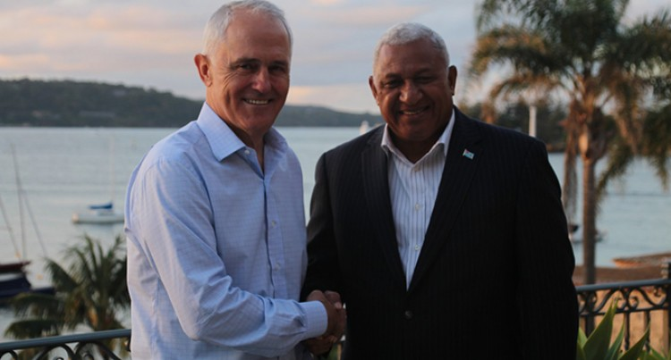 Editorial: Turnbull's Support Crucial for  Fiji's efforts as COP23 Presidency