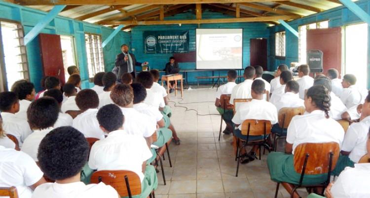 Parliament Bus Visits Namosi Schools