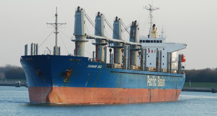 Tasman Sea Arrives With 24,000 Tons Of Clinker