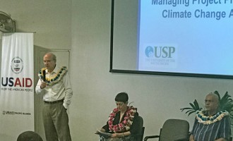 Stakeholders Trained To Develop Climate Adaptation Projects Better