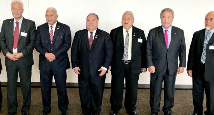 Nauruan Leader: We  Are Big Ocean States