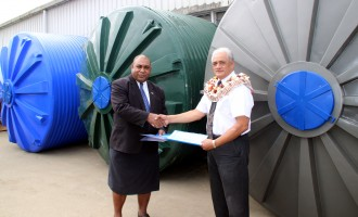 14 Water Tanks For Koro Island
