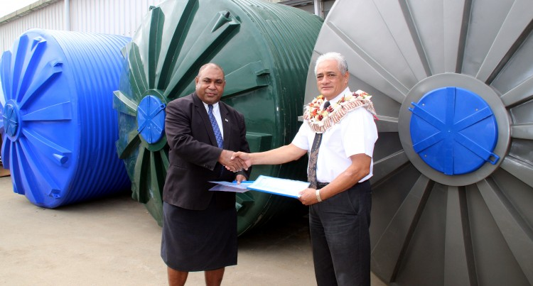 14 Water Tanks For Koro Island