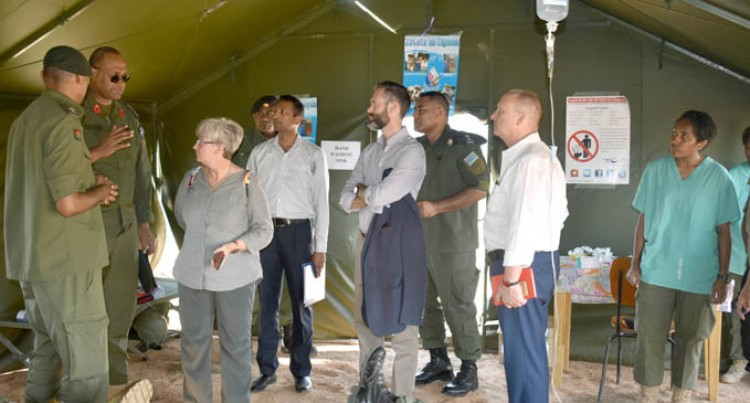 UN Team Impressed With Fiji Army Capabilities