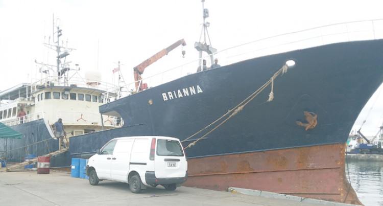 MV Brianna Brings Lau Women For Expo