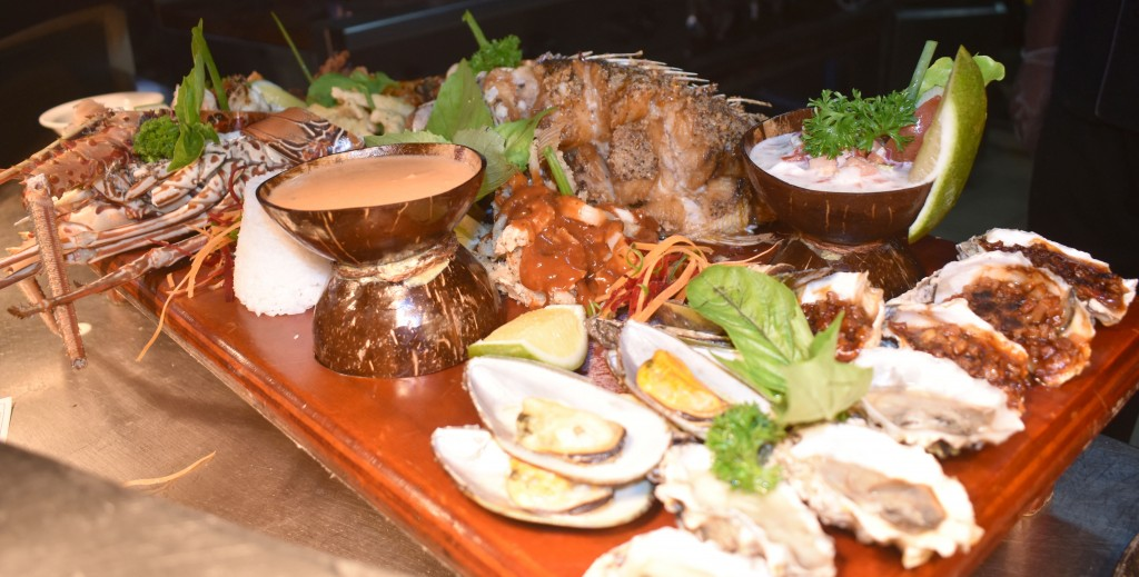 Signature Seafood platter. Photo: WAISEA NASOKIA