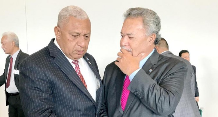 Tuvaluan PM: Trump Fails To Safeguard, Bainimarama Beacon Of Hope