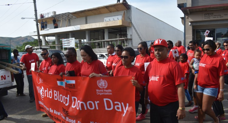 Minister Pays Tribute To Blood Donors