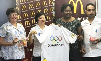 McDonald's Backs Olympic Day Event