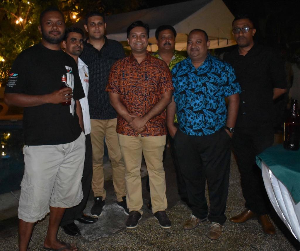 Guests gathered at Fiji Link third birthday cocktail function at Grand Eastern Hotel in Labasa last night. Photo:SHRATIKA NAIDU