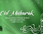 Akbar Sheds Light On Eid Mubarak