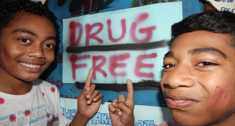 Students Advocate Against Drugs