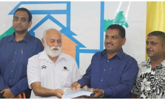 Housing Authority Signs Contract For Additional Works At Matavolivoli Subdivision