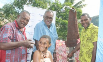 Ba Village Benefit From $218K Water Project