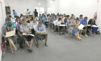 Polling Staff Cover Lau Islands Group