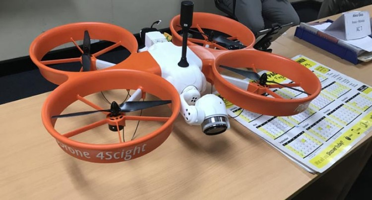 Census Team Uses Drones To Carry Out Work