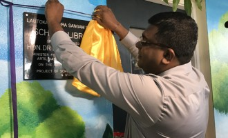 Minister Opens New Sangam Extensions