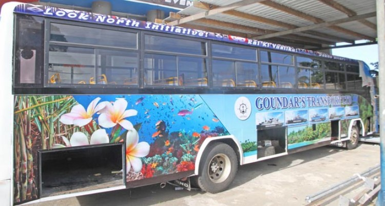 Goundar Introduces Bus Services In The North