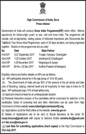 Know India Programme(KIP)