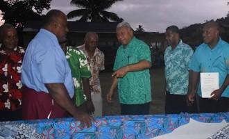 Tui Cakau's Warriors Seek The PM's  Forgiveness, Pledge Their Support