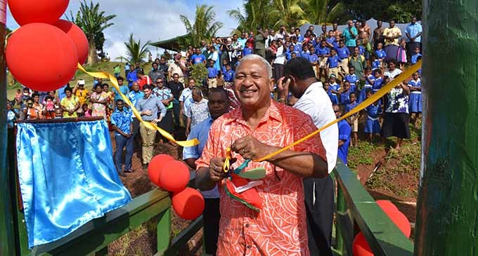 Prime Minister Brings Smiles To 500 Residents