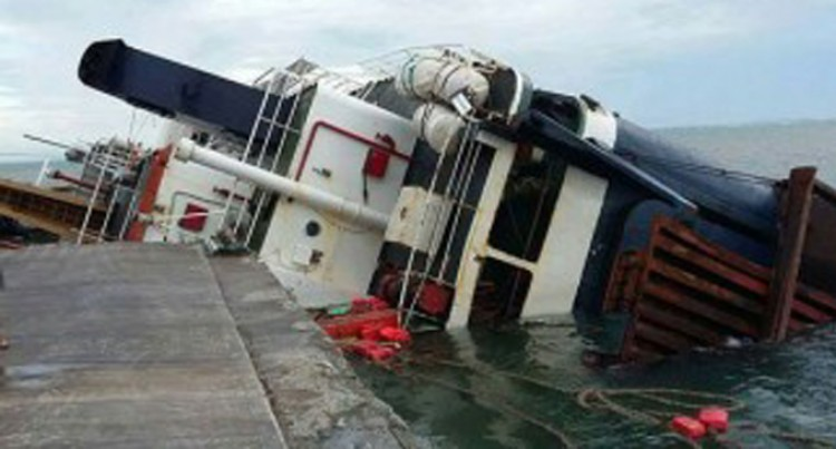 Sinu-i-Wasa I To Be Refloated And Towed Away