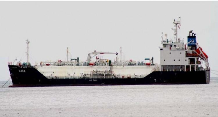 LPG Tanker Maea Offloads Gas