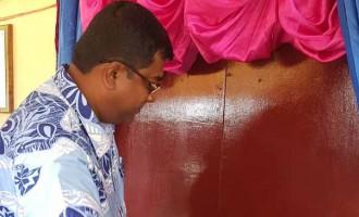 Minister Opens New $70k Block