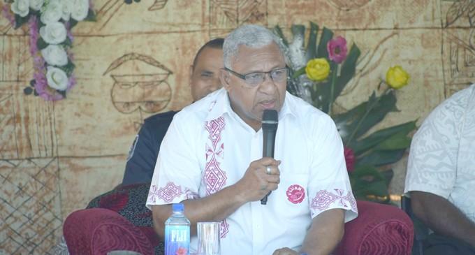 Water Issue Frustrates Bainimarama