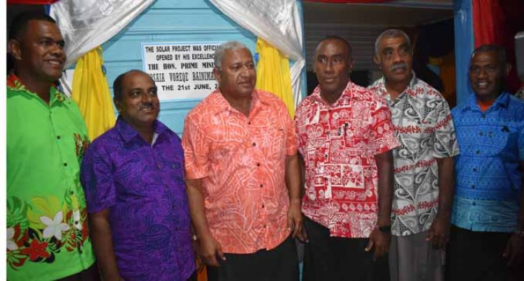 Solar Power Lights Up Nabua Village