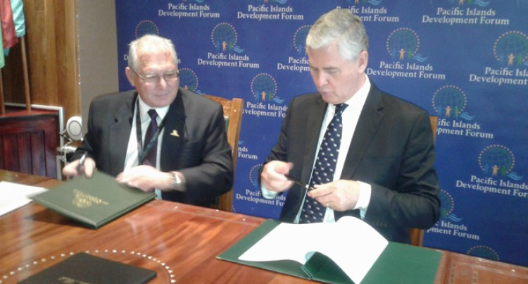 Development Forum signs on for Green Growth Help