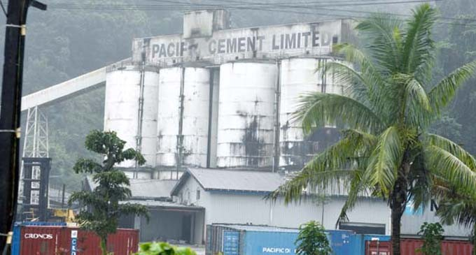 Stop Work Notice For Pacific Cement