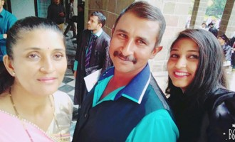 Farmer Overcomes Fear Of Flying , Fly To India For Daughter's Graduation