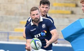 Scots Set:Game On, Rain Or Shine: Scotland Captain John Barclay