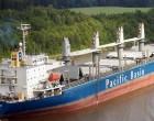 Tasman Sea Unload Clinker At Suva Port