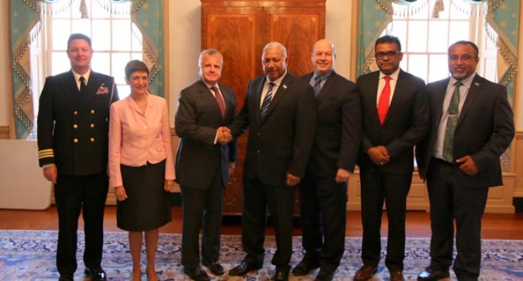 Fiji-US Trade, Defence Partnership Firm