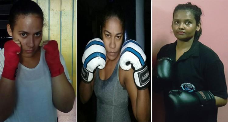 Women Boxers In Nadi Show