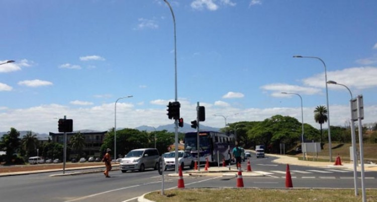 Traffic Lights At Nadi Airport Intersection Temporarily Out Of Commission