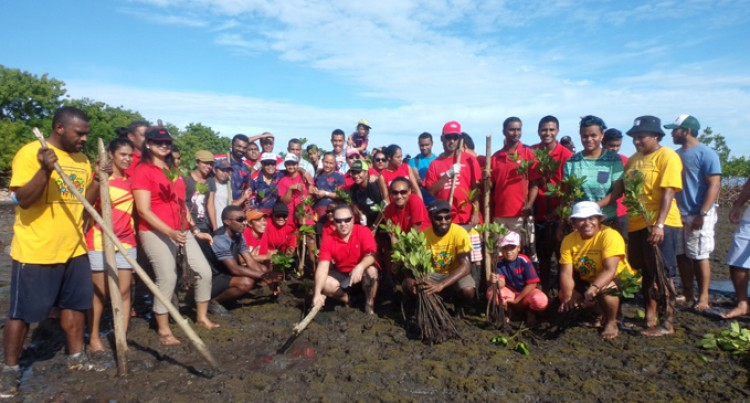 Westpac Staff Clean Up Saweni Beach