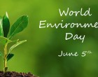 STATEMENT FROM THE PRIME MINISTER ON WORLD ENVIRONMENT DAY