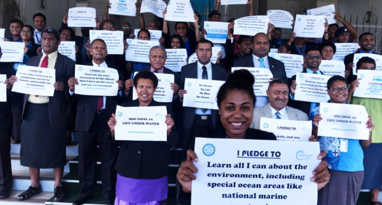 Parliament Celebrates World Oceans Day