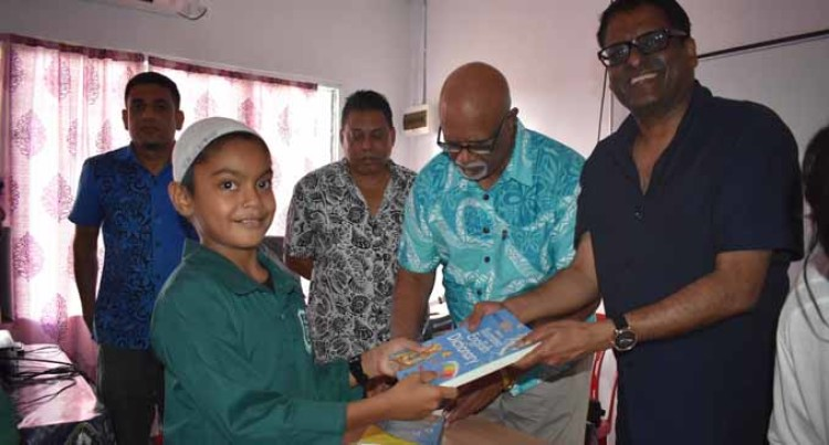 Year Five Pupil Receives First Dictionary